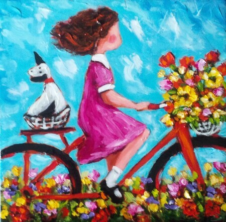 Bernadette's Beautiful Day -sold