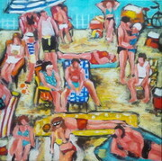 Day at the Beach - Sold