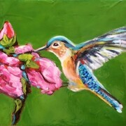 Hummingbird Bliss - Sold