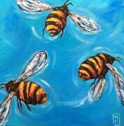 Bumbling Bees - Sold