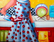 Kitchen Goddess- Sold