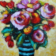 Luscious Blooms - Sold