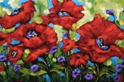 Poppy Burst - Sold